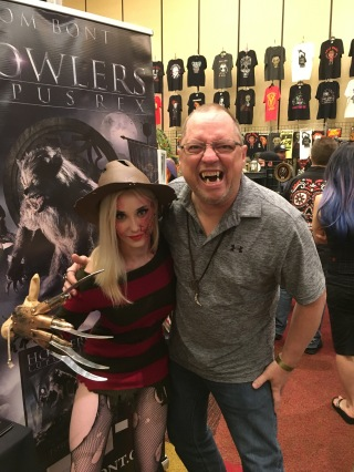 This young lady made an awesome Fredricka Krueger.
